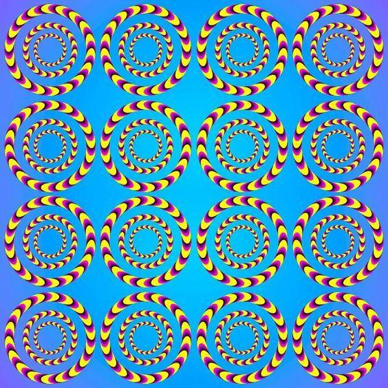 Оптические Иллюзии Или Обман Зрения (Картинки)