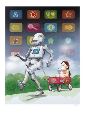 Castles in the air - a walk with the robot