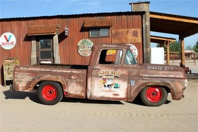 Ford : F-100 custom shelby tribute
