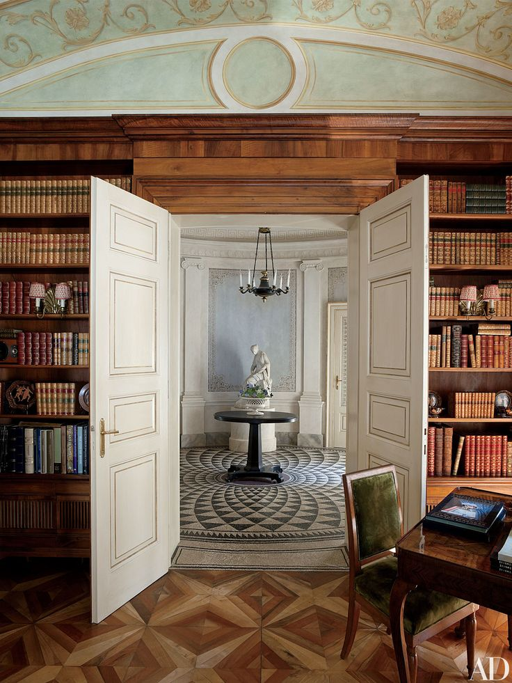 15 Romantic Rooms in Italian Homes from the AD Archives Photos   Architectural Digest