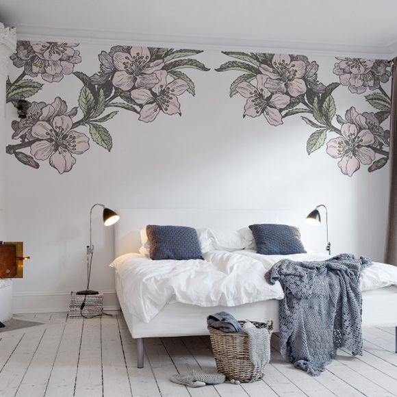 1000 images about bomen behang wallpaper trees on pinterest soldiers accent walls and - Behang slaapkamer ...
