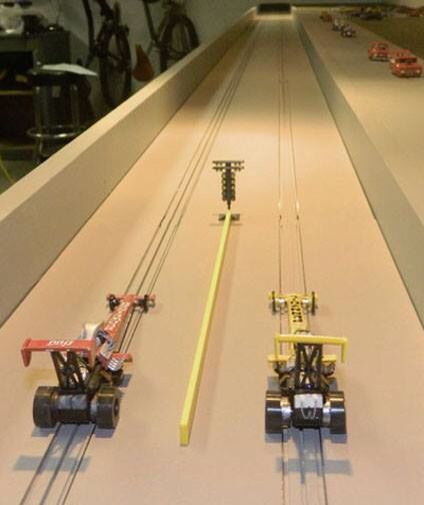 Ho Scale Slot Car Drag Racing