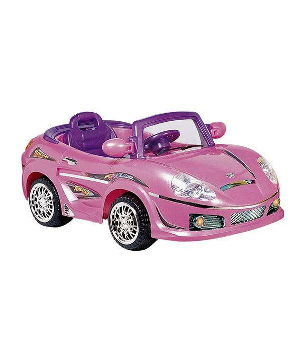 best ride on cars pink convertible sports car ride on - Cars For Girls To Drive Kids