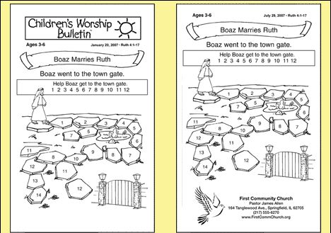 It's just a graphic of Luscious Free Printable Children's Church Curriculum