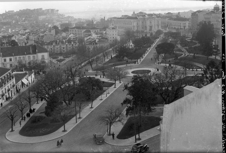 Campo de Santana, Lisboa (E. Portugal, 1940)