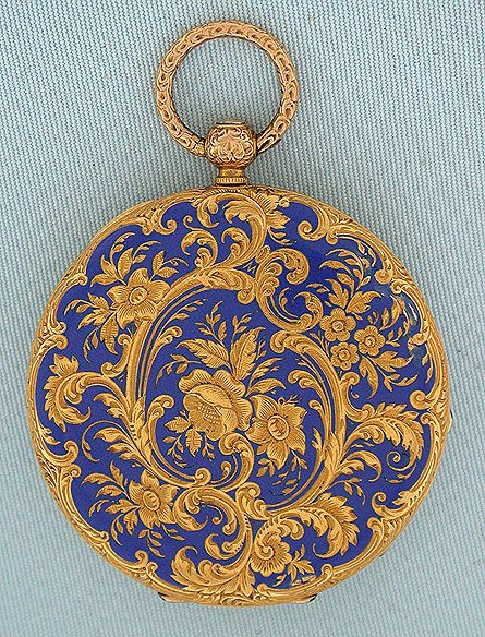 Bogoff Antique Pocket Watches Vacheron and Constantin Enamel - Bogoff Antique Pocket Watch # 6540