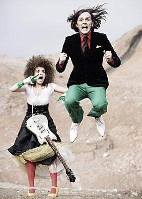 Eurovision Song Contest, Bosnia & Hercegovina 2008: Elvir Laković Laka: Pokusaj. Laka & his sister here.