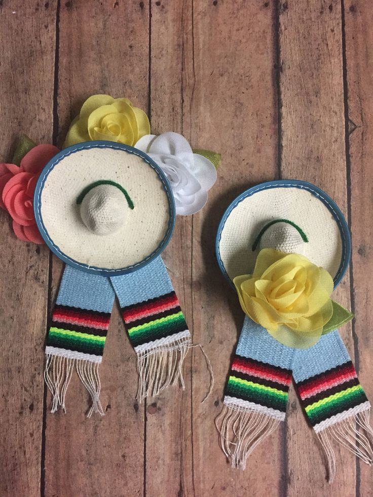A personal favorite from my Etsy shop https://www.etsy.com/listing/542545799/mexican-hats-sarapes-baby-shower-fiesta