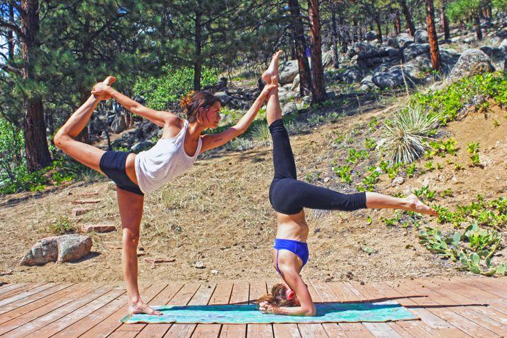 The 25+ best Partner yoga poses ideas on Pinterest