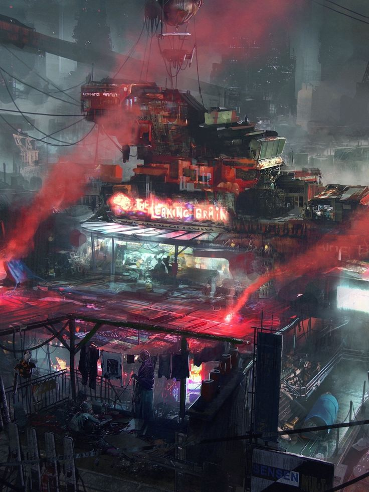 The Leaking Brain | #cyberpunk #scifi #darkfuture #bravenewworld