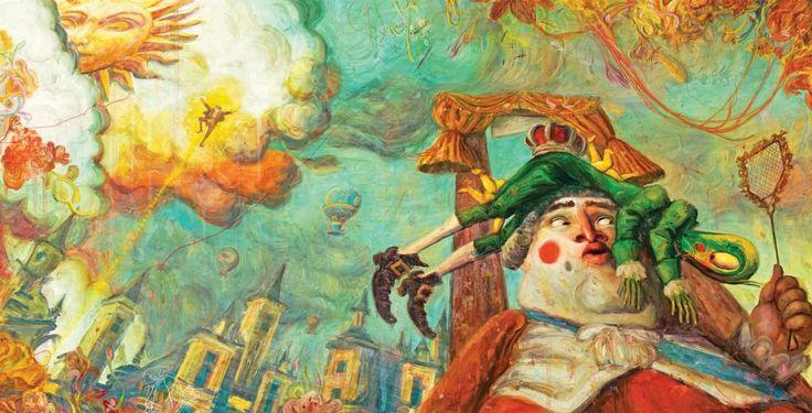"""Tomislav Torjanac illustration for """"The Jumpers""""."""