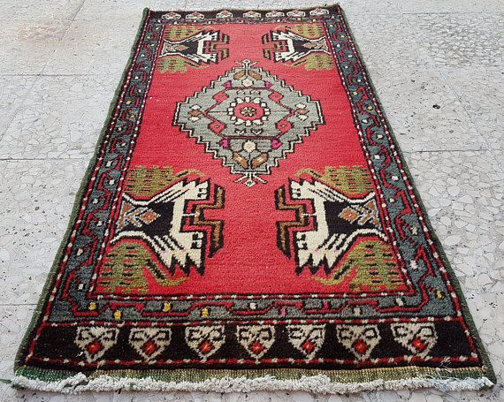 Narrow and small pile carpet Entrance Rug Area rug oriental