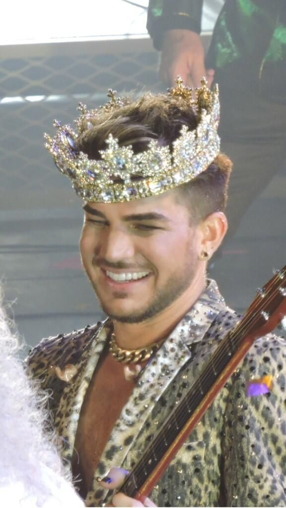 Queen + Adam Lambert - United Center - Chicago, IL - 6/19/14 .