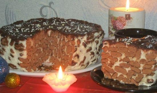 Конкурсное блюдо: торт без выпечки Мечта кофемана