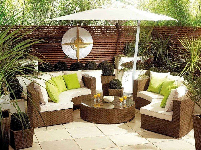 822 best patios, terrazas y balcones images on pinterest - Patio Furniture Design