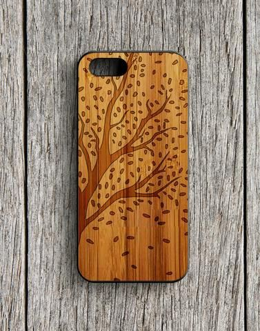 Cherry Blossom Art Wood Design iPhone 5 | 5S Case