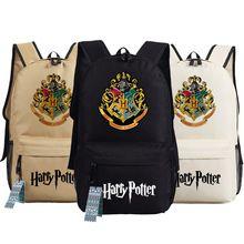 Harry Potter Jongen Schooltas Anime Rugzakken Kinderen Boek Schoudertassen Tiener Rugzak Studenten Meisje Rugzak Mochila Escolar(China (Mainland))