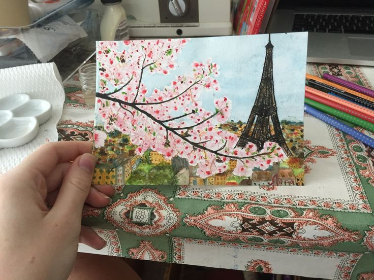 Акварель. Watercolors. Paris