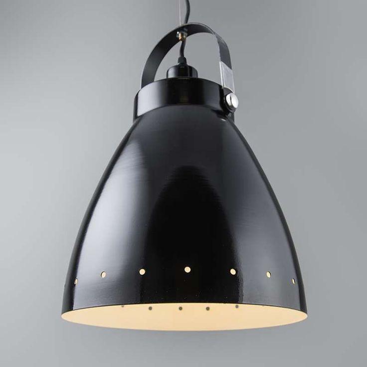 Lampa wisząca Rytel czarny