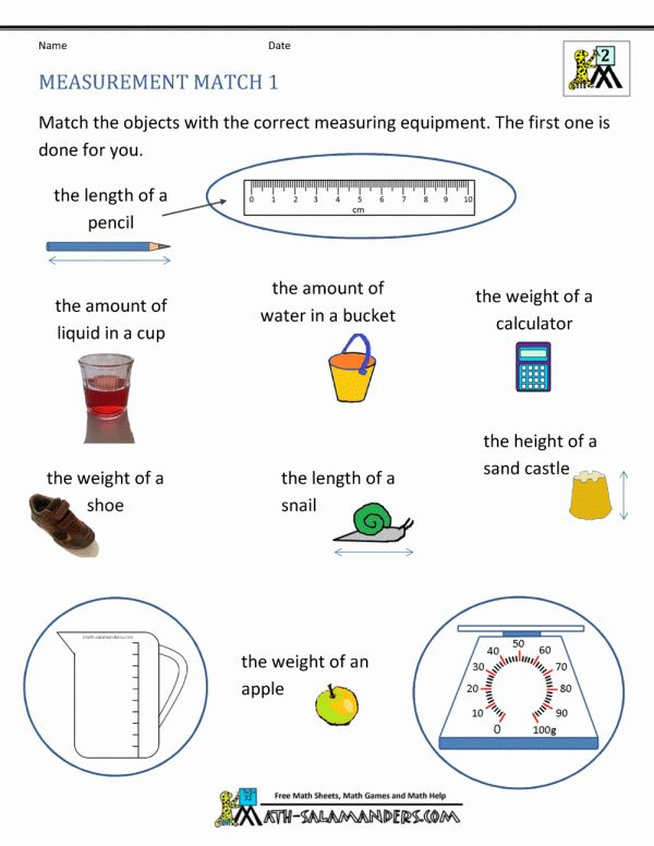 11 2nd Grade Math Measurement Worksheets Measurement Worksheets 2nd Grade Math Math Worksheets