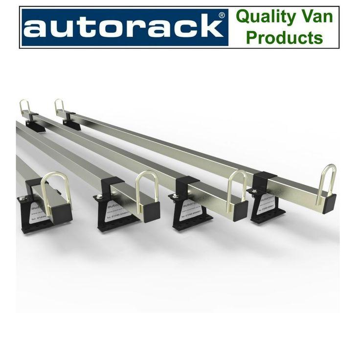 Van Roof Rack 4 Bars RENAULT MASTER 2010-onward current van - Autorack MegaBars #AUTORACKROOFRACKS