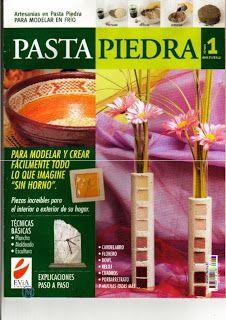 Revistas de Manualidades Para Descargar: Pasta Piedra