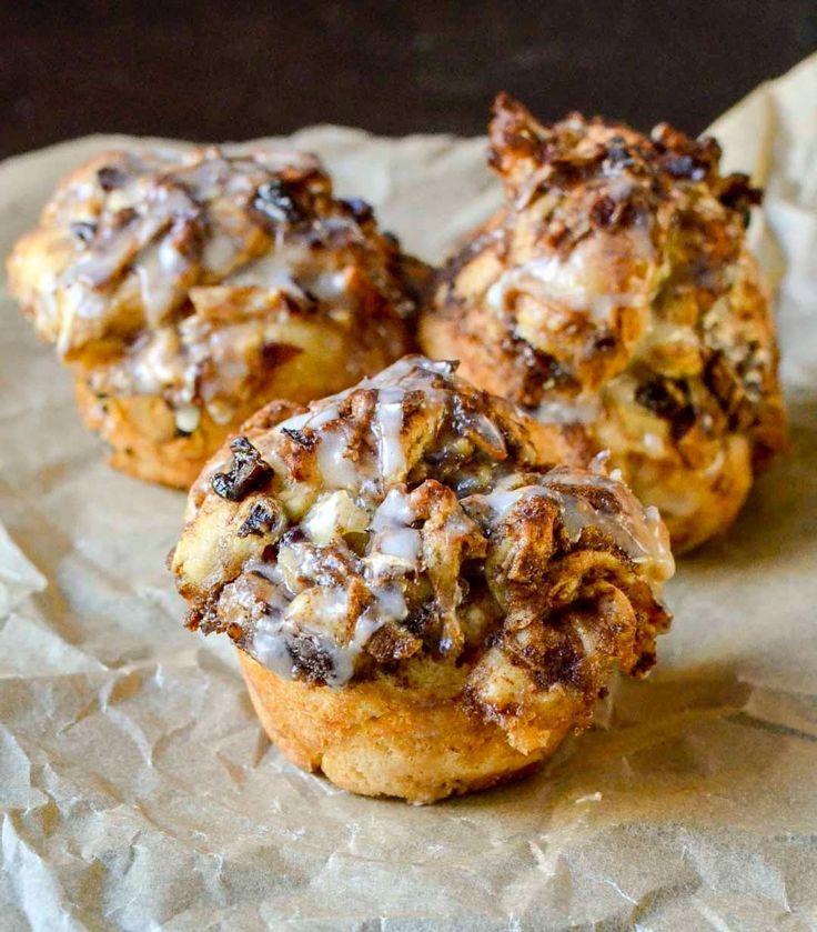 Recipe: Apple Cinnamon Mini Monkey Breads with Lemon Glaze | Kitchn