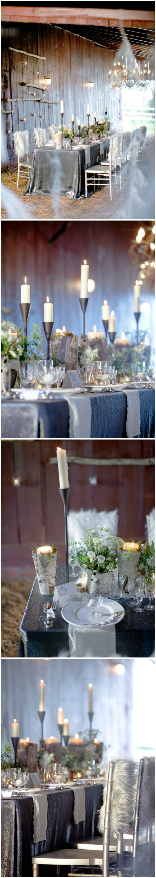 Wedding u2014 Tablescape Reception Dcor u2014 Rustic