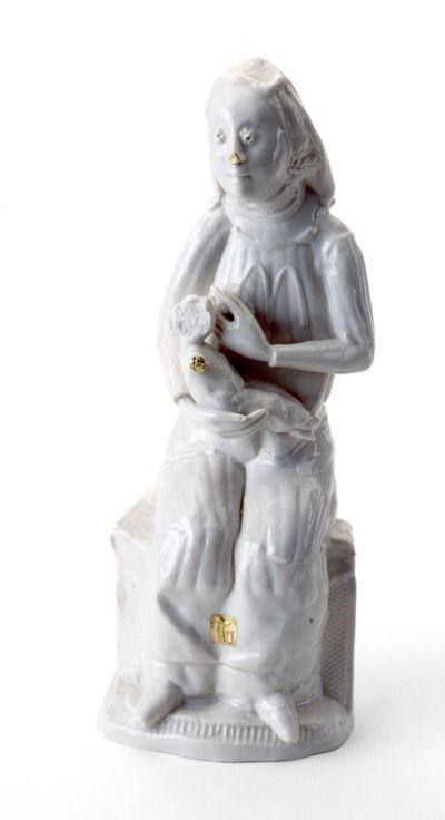 PHILIP EGLIN: MADONNA AND CHILD, 2000 (collection Stedelijk Museum Amsterdam)
