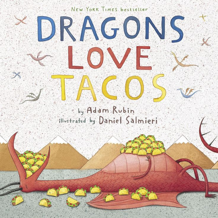 Just bought this the other day for our grandson! A very cute book. Penguin 73680 Dragon Loves Tacos Children's Book