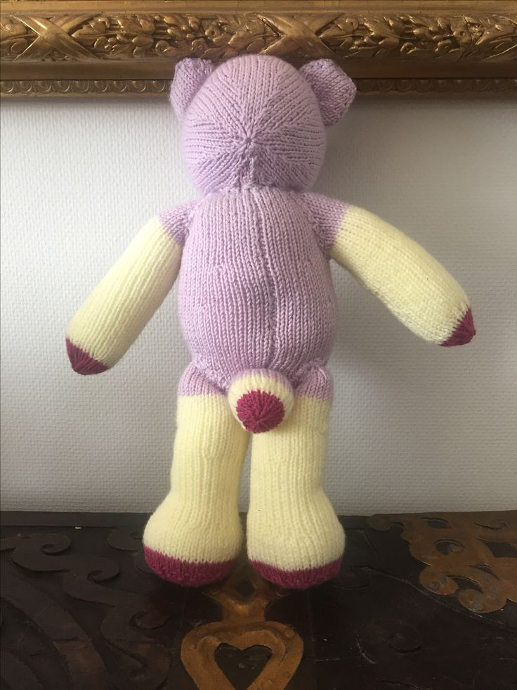 Isiah the Bear   100% handmade, and so can be made in any colour. Created using beautifully soft yarn, perfect for delicate baby's skin. Hand washable and stuffed with hypoallergenic wadding. No small parts.