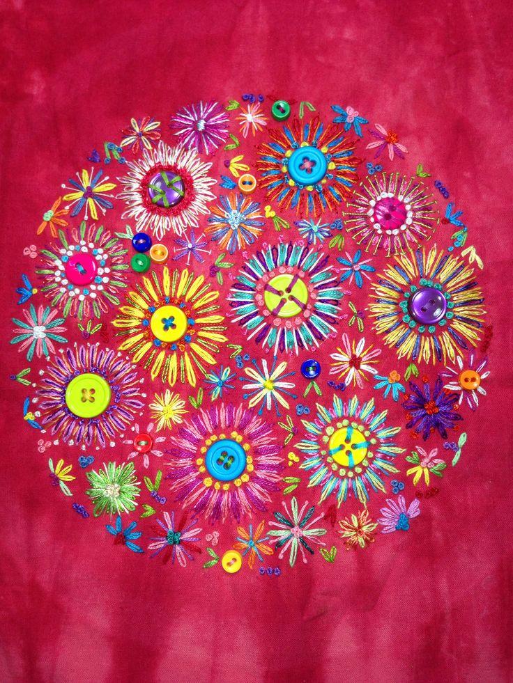 Fiber Art Embroidery | Donna Funnell Fibre Art | Fibre art and embroidery | Pinterest