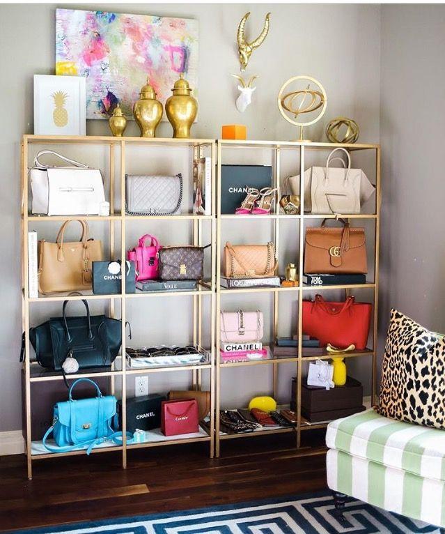 Best 25 handbag display ideas on pinterest purse display handbag organization and diy purse for How to make designer bags at home