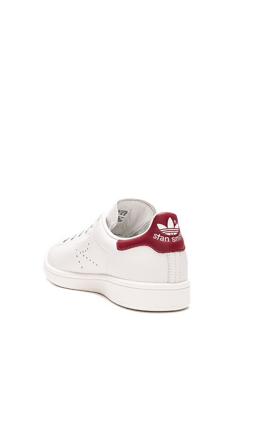 Shop for adidas by Raf Simons Stan Smith Sneaker in Vintage White &  Collegiate Burgundy at