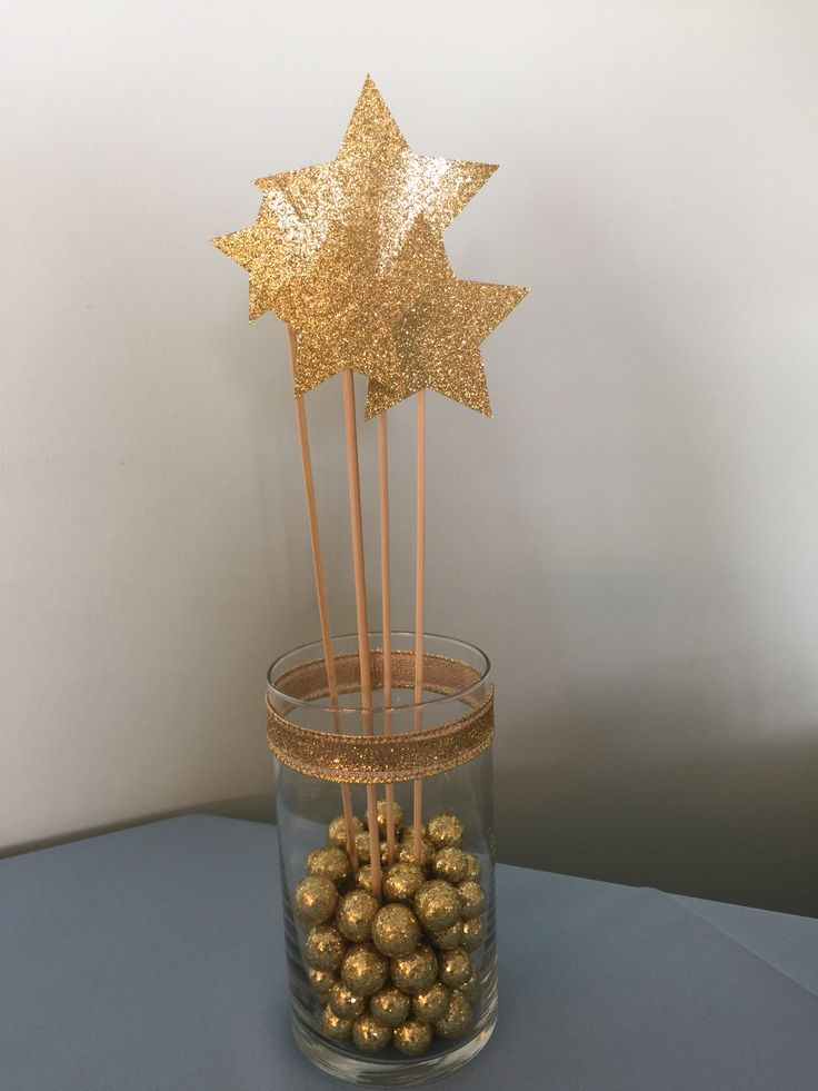 Twinkle twinkle little star centerpiece