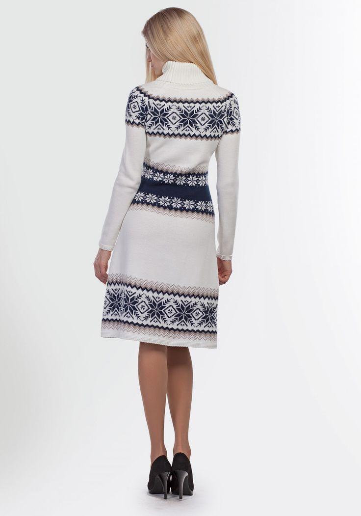 Платье с оленями 2095