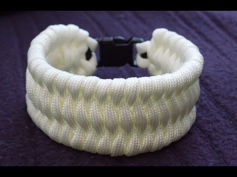 How to Make a 12-Strand Wide Round Braid (Paracord) Key Fob by TIAT - YouTube