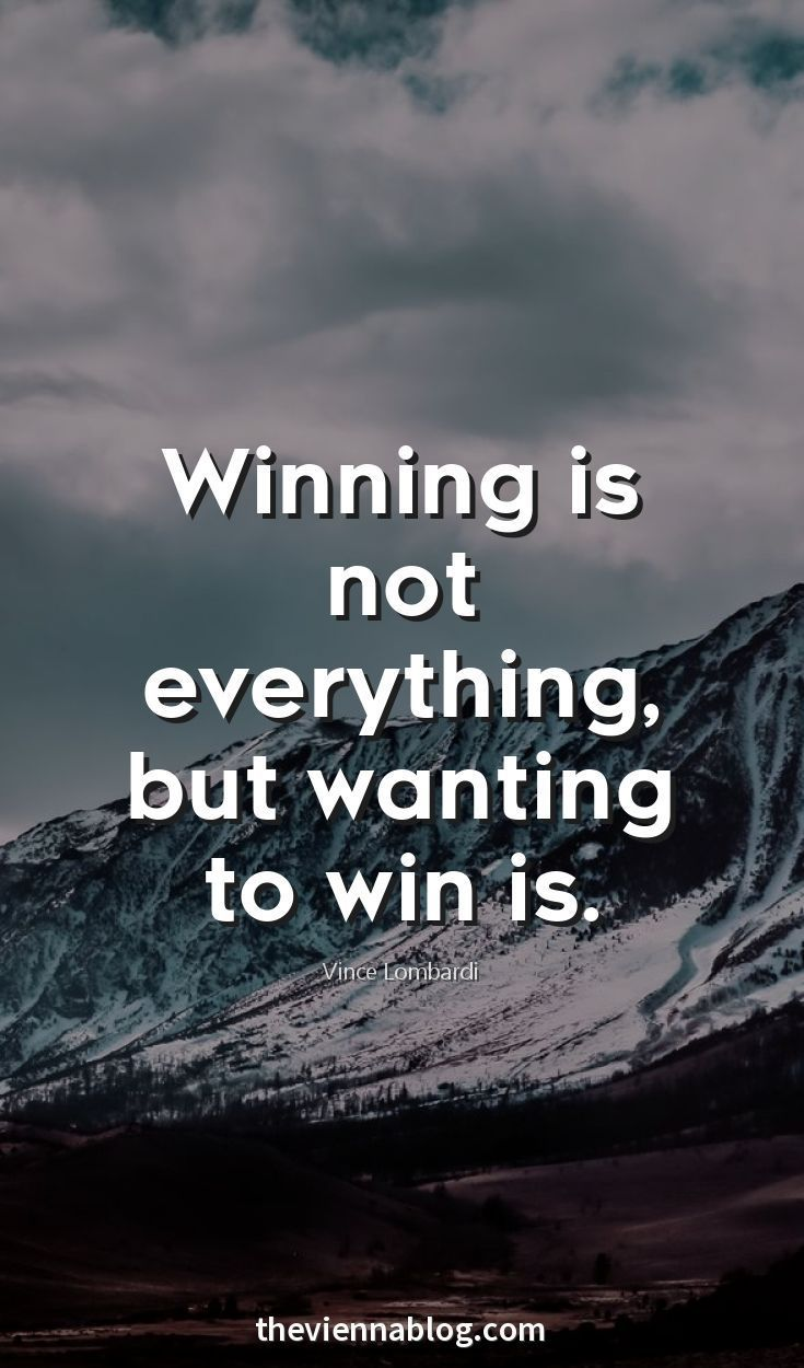 It S Not About Winning At All Business Inspiration Quotes Inspirational Quotes Motivation Life Lesson Quotes