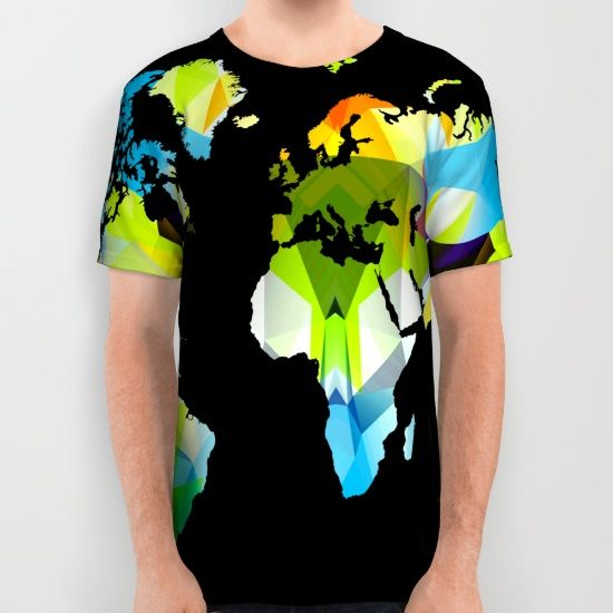 Buy Colorful world map All Over Print Shirt by haroulita. Worldwide shipping available at Society6.com. Just one of millions of high quality products available.