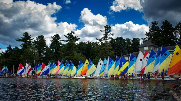 """The 2015 Junior Sailing Regatta at Lake Naomi's Club Beach. """"Done Runnin"""" by RW Smith, courtesy of the YouTube Audio Library."""