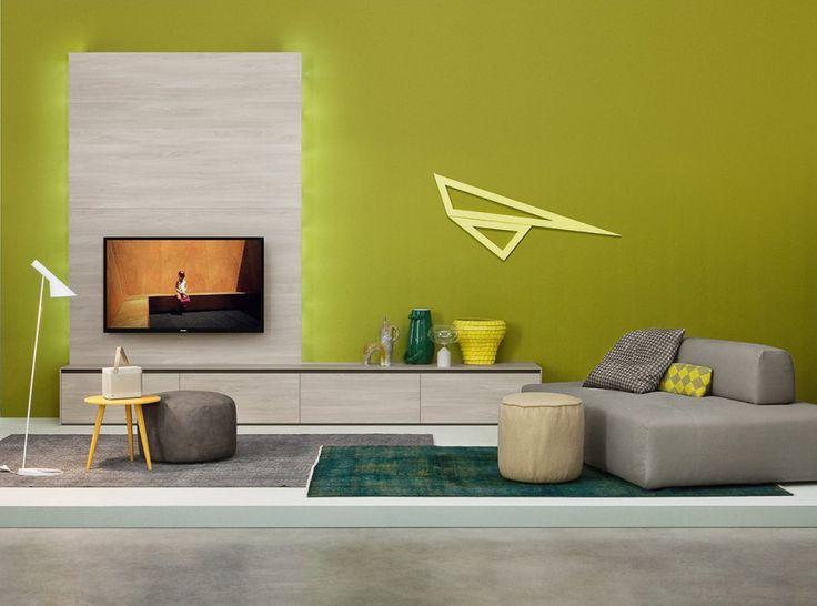 Die besten 25+ TV Wandpaneel Ideen auf Pinterest Fernseh - beamer im wohnzimmer