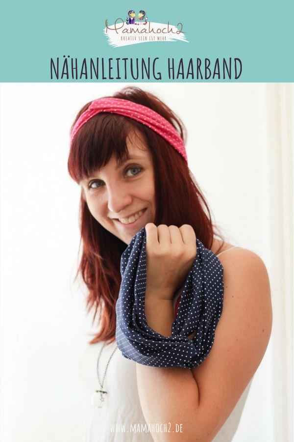 Haarband Nähanleitung: So kannst du dir einen Turban selber nähen (mit Video