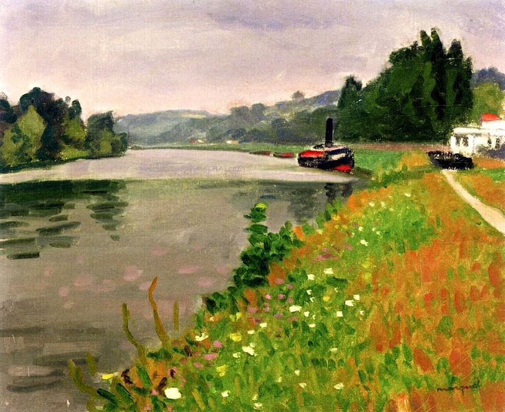 Albert Marquet (French, 1875-1947) > Le Bac Rosseboise