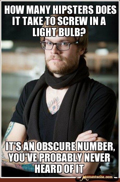 Hipster meme