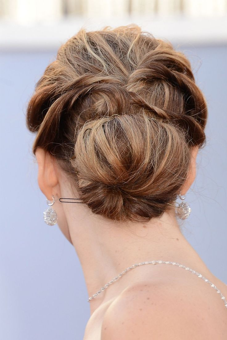 Celebrity Hairstyles: Chignons, Low Buns | Hair | Hair ...