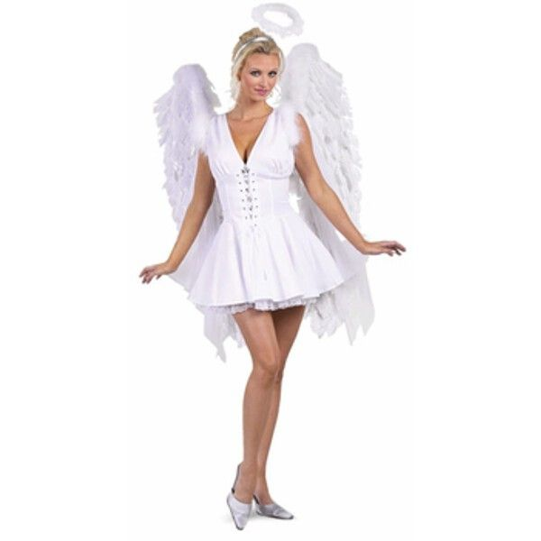 adult sexy angel costume - Halloween Costumes Angel Wings