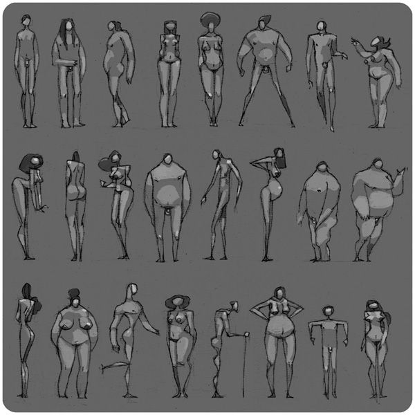 Character Design Body : Best character design body types images on pinterest
