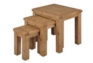#Newland #Oak Nest of #Tables
