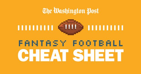 The 2016 Fantasy Football Draft Cheat Sheet: Tips, strategies, rankings and more
