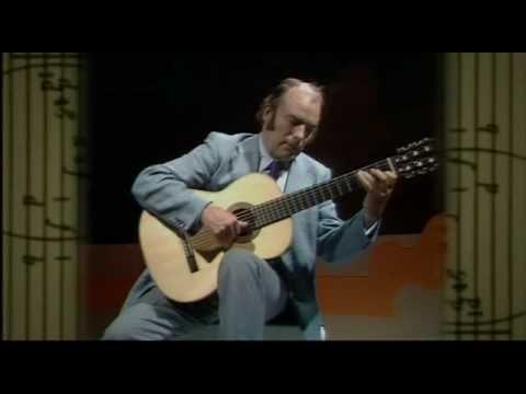 Julian Bream - J.S Bach-Violin Sonata fugue - YouTube